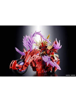 Bandai Gundam SD Sangoku Soketsuden Lyu Bu Sinanju & Red Hare Model Kit 8cm 08