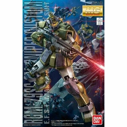 Bandai Gundam MG 1/100 RGM-79SC Sniper Custom Model Kit