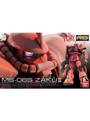 Bandai Gundam Model Kit RG MS-06S Zaku II