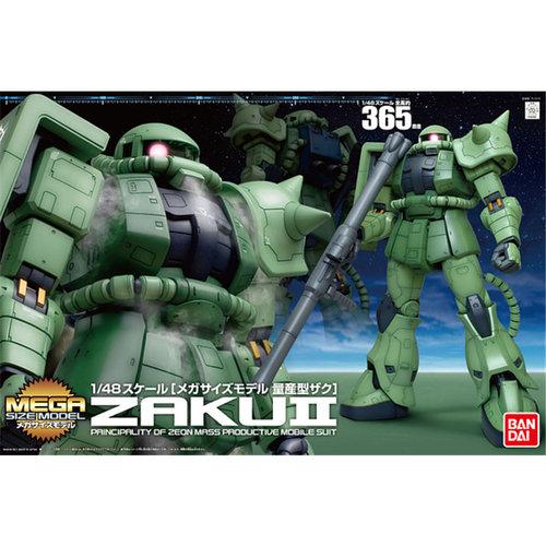Bandai Gundam Megasize - Zaku II Verde 1/48 Model Kit
