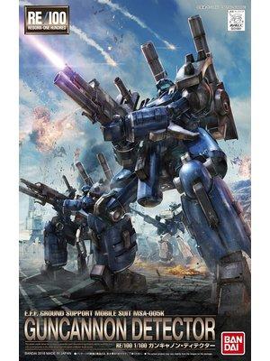 Bandai Gundam Re-100 1/100 Guncannon Detector Model Kit 008