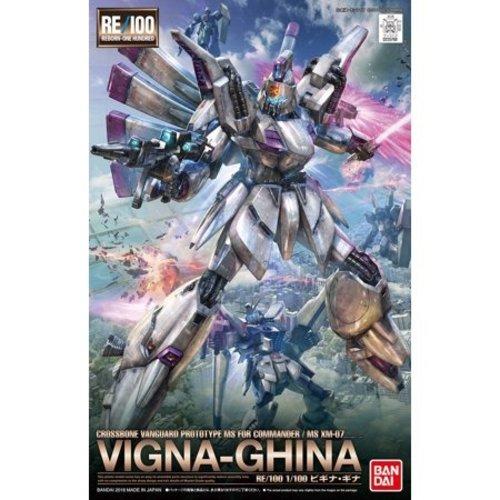 Bandai Gundam Re-100 1/100 MS XN-07 Vigna-Ghina Model Kit 009