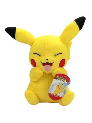 Pokemon Pluche Laughing Pikachu 20cm