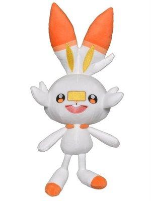 Pokemon Pluche Scorbunny 25Cm