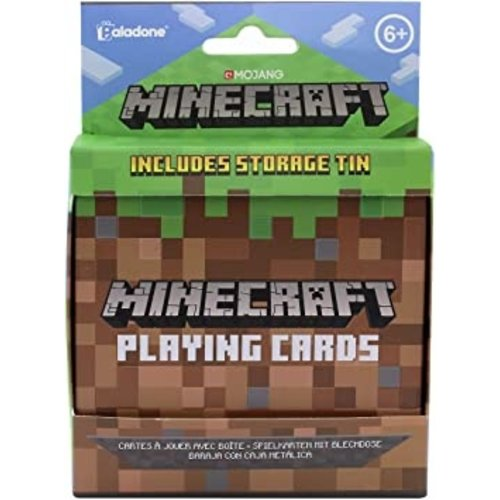 Minecraft Playing Cards Tin
