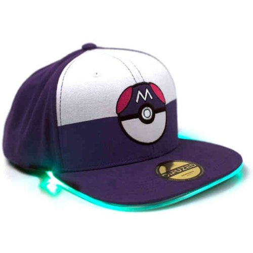 Difuzed Pokemon Led Lighted Luminous Embroidery Patch Snapback Cap