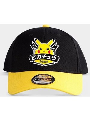 Difuzed Pokemon Olympics Hero Pikachu Patch Snapback Cap