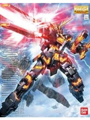Bandai Gundam MG 1/100 Unicorn Gundam 2 Banshee Model Kit 18cm