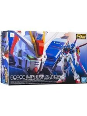 Bandai Gundam RG 1/144 Force Impulse Gundam ZGMF-X56S Model Kit