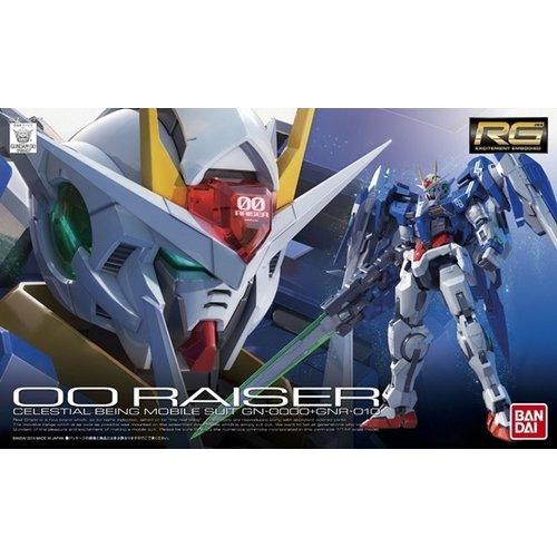 Bandai Gundam RG GN-0000-GNR-010 OO Raiser 1/144 Model Kit