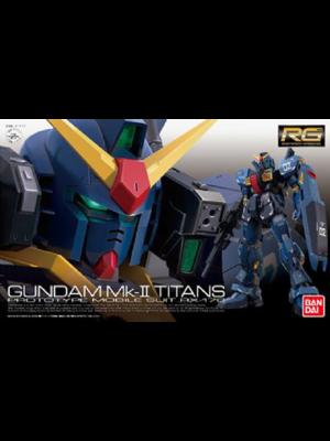 Bandai Gundam RG 1/144 RX-178 Gundam MK-II Titans Model Kit 07