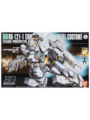Bandai Gundam HGUC 1/144 Hazel Kai RX-121-1 Gundam Model Kit