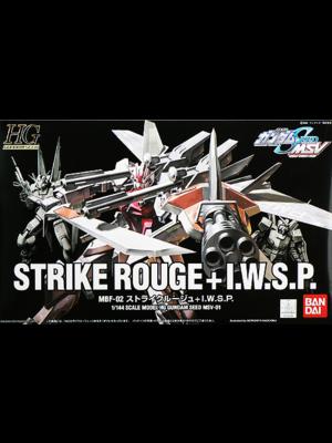 Bandai Gundam HG 1/144 Strike Rouge MSV MBF-02 I.W.S.P Model Kit