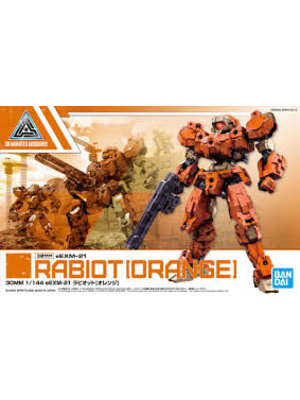 Bandai Gundam 30MM eEXM-21 Rabiot Orange Model Kit