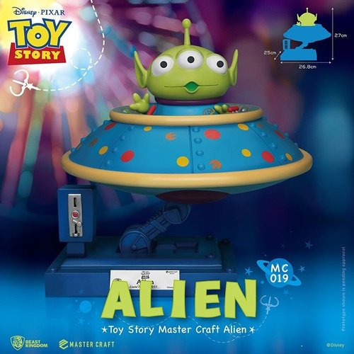 Beast Kingdom Disney Toy Story Alien Statue Master Craft 26cm Beast Kingdom