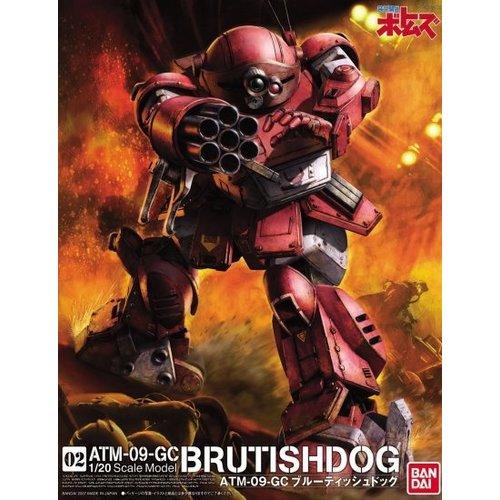 Bandai Votoms Brutish Dog 1/20 Model Kit