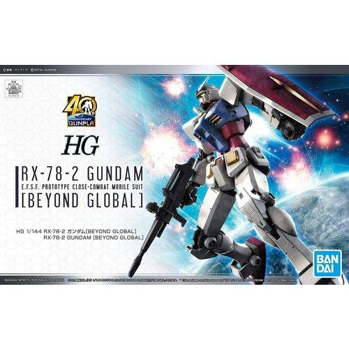 Bandai Gundam HG 1/144 RX-78-2 Gundam Beyond Global Model Kit
