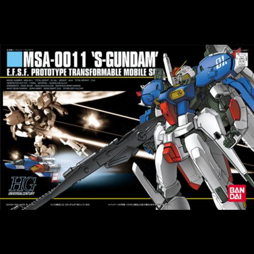 Bandai Gundam HGUC 1/144 MSA-0011 S-Gundam Model Kit 023