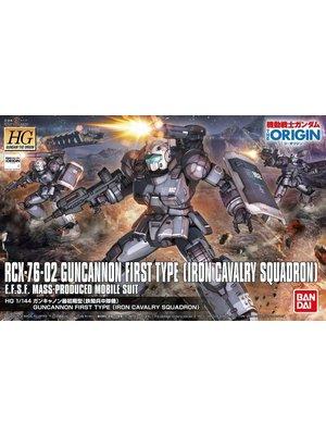 Bandai Gundam HG 1/144 The Origin RCX-73-02 Guncannon 1st Type Model Kit 011