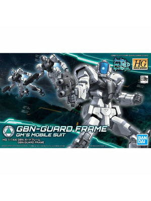 Bandai Gundam HGBD 1/144 GBN-Guard Frame Build Divers Model Kit