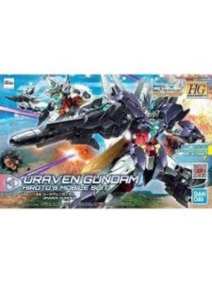 Bandai Gundam HGBD-R 1/1447 Uraven Gundam Hiroto's Mobile Suit Model Kit 023