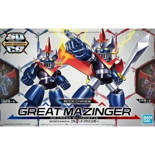 Bandai Gundam SD Cross Silhouette Great Mazinger Model Kit