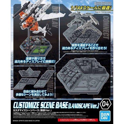 Bandai Gundam Customize Scene Base 04 Landscape Version Model Kit