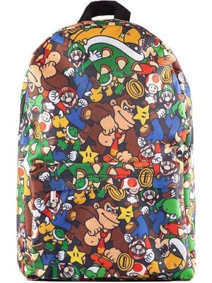 Super Mario Characters Backpack 41x31x3cm