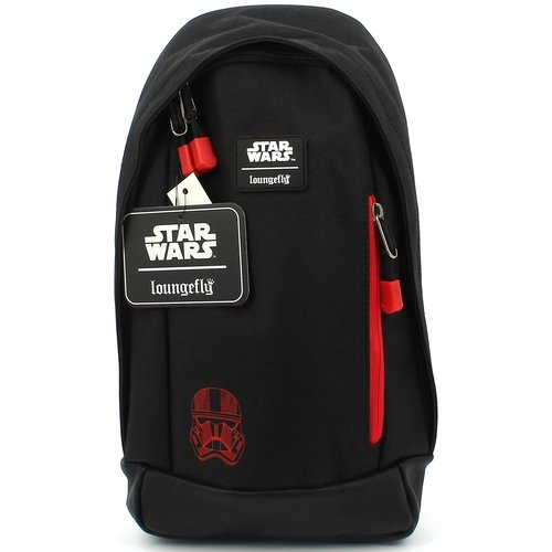 Star Wars The Rise of Skywalker Nylon Sling Backpack Loungefly 36x18x6cm