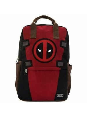 Loungefly Marvel Deadpool Cosplay Square Nylon Backpack 44x29x13cm