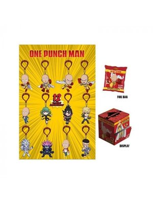 One Punch Man Keychain / Backpack Hangers 6cm