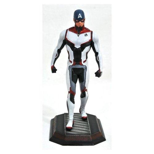 Marvel Team Suit Captain America Exclusive Statue 23cm Gallery Diorama
