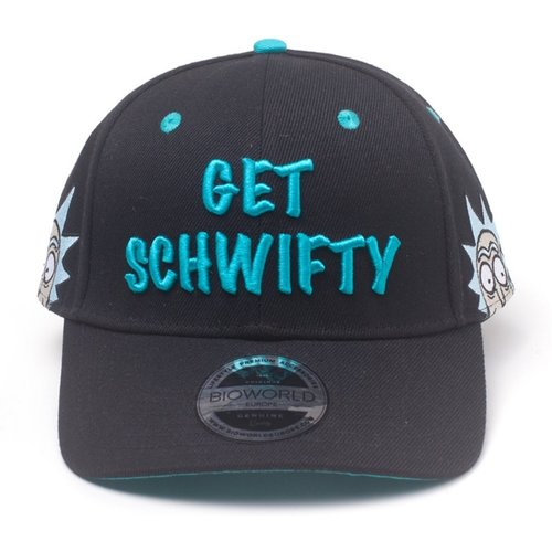 Rick and Morty Get Schwifty Snapback Cap