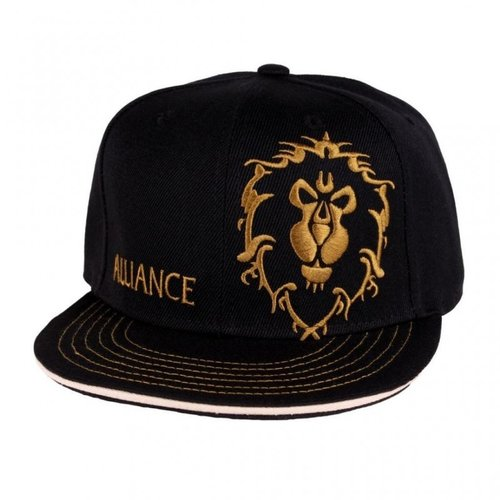 World of Warcraft Alliance Logo Snapback Cap