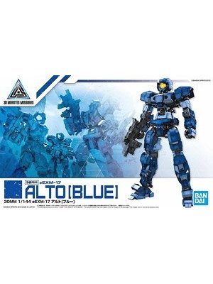 Bandai Gundam 30MM 1/144 eEXM17 Alto Blue Model Kit 03