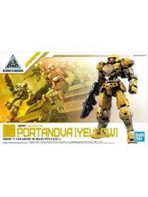 Bandai Gundam 30MM 1/144 bEXM15 Portanova Yellow Model Kit 10