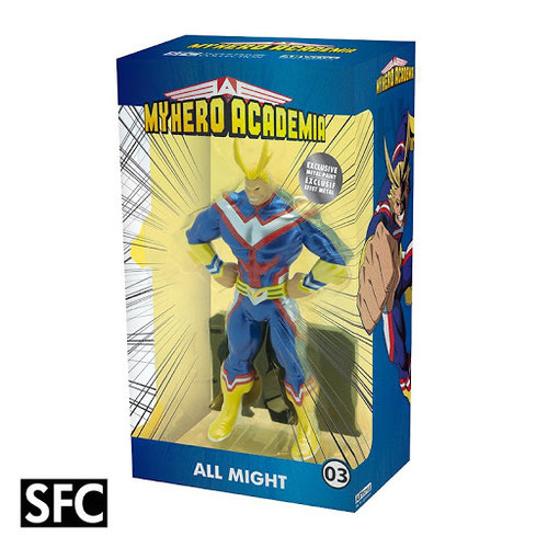 Abystyle My Hero Academia All Might Metal Foil Figure 22cm