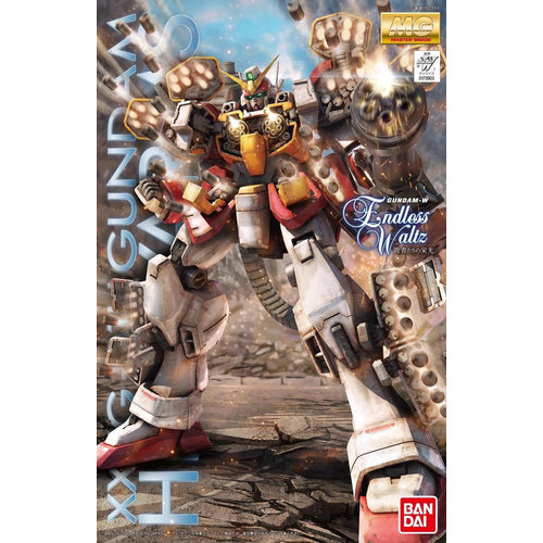 Bandai Gundam MG 1/100 Endless Waltz Heavy Arms XXXG-01H Model Kit