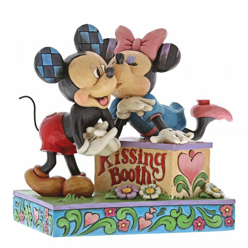 Disney Traditions Disney Traditions Kissing Booth (Mickey Mouse and Minnie Mouse Figurine)