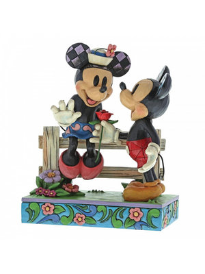 Disney Traditions Disney Traditions Blossoming Romance (Mickey Mouse and Minnie Mouse Figurine)