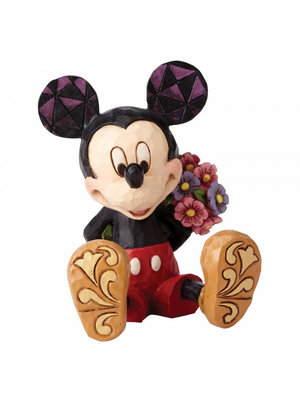 Disney Traditions Disney Traditions Mickey Mouse with Flowers Mini Figurine