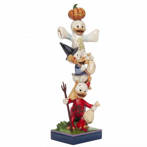 Disney Traditions Disney Traditions Halloween Stacked Huey, Dewey and Louie Figurine