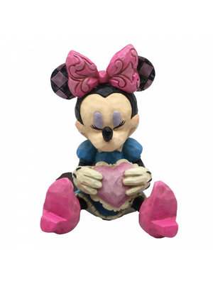Disney Traditions Disney Traditions Minnie Mouse with Heart Mini Figurine