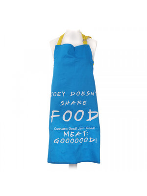 Friends Joey Doesn't Share Food Apron / Keukenschort