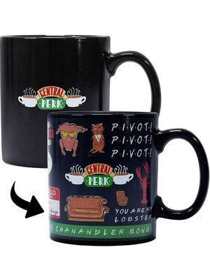 Friends Quotes Heat Changing Mug