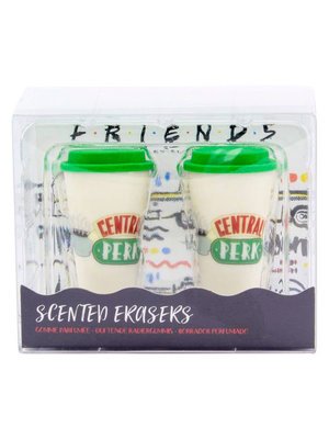 Friends Coffee Scented Erasers Set of 2