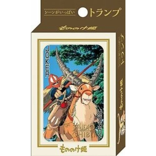 Studio Ghibli Princess Mononoke Playing Cards (54 cards)