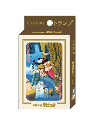 Studio Ghibli Castle in the Sky Playing Cards (54 cards)