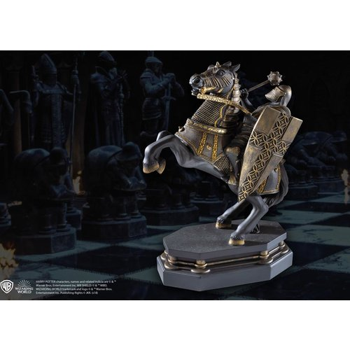 The Noble Collection Harry Potter Wizard Chess Knight Bookend Black Noble Collection