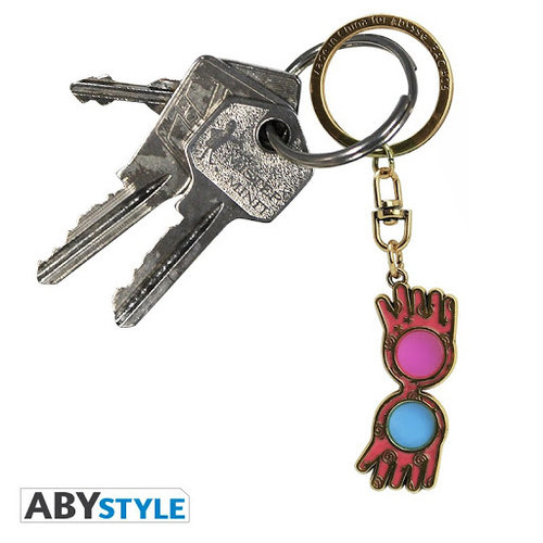 Harry Potter Luna Lovegood Glasses Keychain